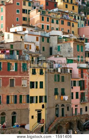 Architecture In Vernazza