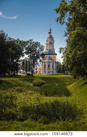 Khazanskaya Church. Uglich. Yaroslavl region. Russia. Golden Ring.