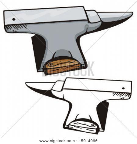 Illustration of a western anvil.