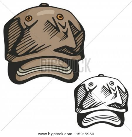 Baseball hat. Vector illustration