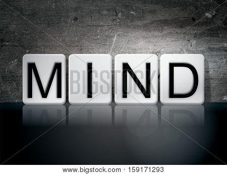 Mind Tiled Letters Concept And Theme