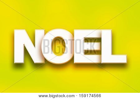 Noel Concept Colorful Word Art