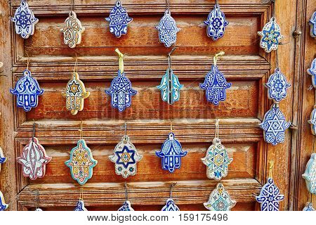 Selection Of Traditional Moroccan Amulets