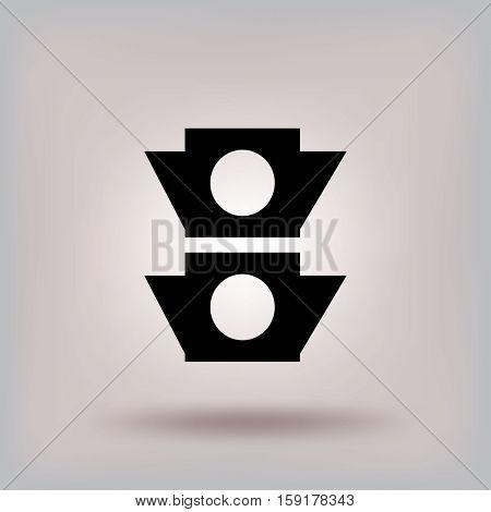icon traffic light