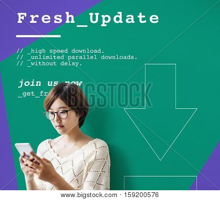 Fresh Update Modern Technology Concept