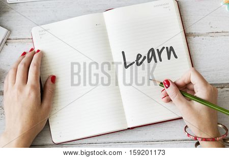 Time to Learn Knowledge Education Intelligence Insight Wisdom Concept