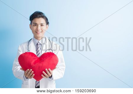 male doctor take love heart to youasian