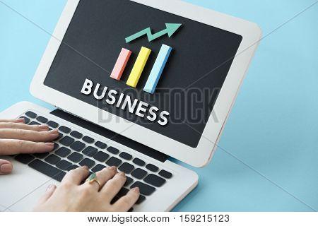 Graph Growth Development Improvement Profit Success Concept