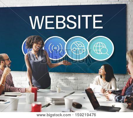 Website Internet Technology Concept