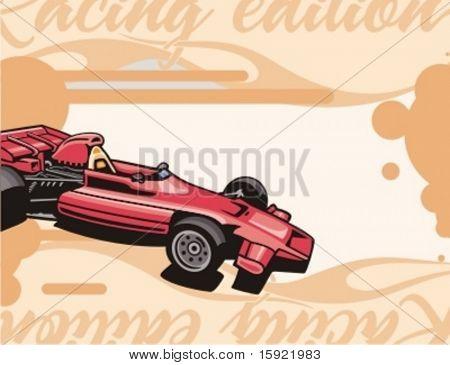 Hot Rod-Hintergrund-Serie.