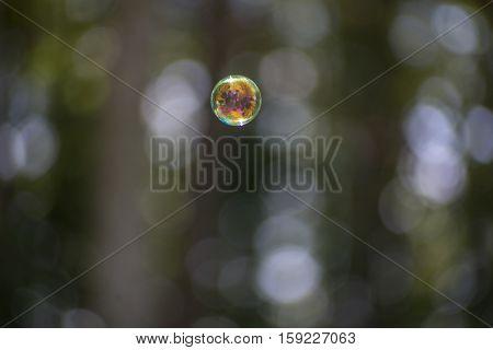 Columns Of Bubbles