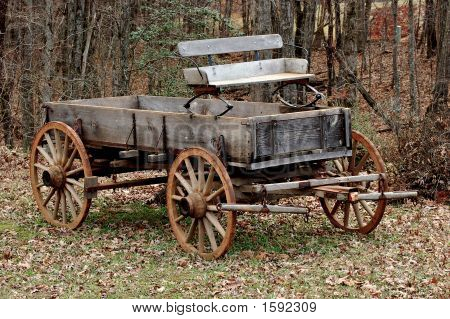 Wooden Plant Holders Garden Old Wood Wagon Plans How To