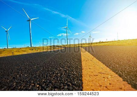 Environmentally Friendly Power Generation Wind Power Turbines