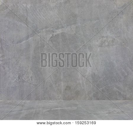 Close up of concrete wall and floor texture background
