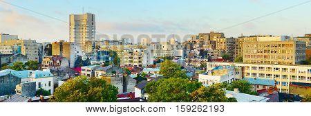 Bucharest Panorama, Romania