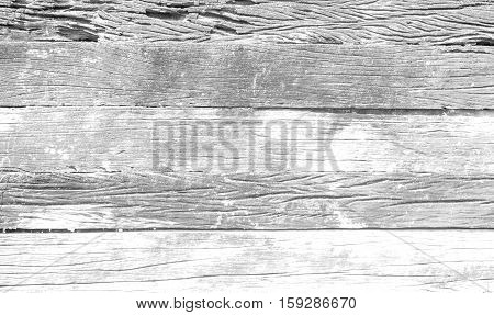 The blank white grunge wood texture background