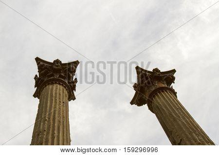 Pillars From Windsor Ruins