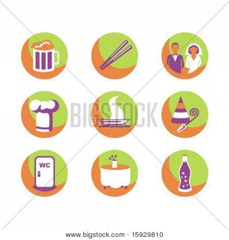 Exklusiv-Reihe Food Icons. Prüfen Sie mein Portfolio für viel mehr von dieser Serie sowie Tausende