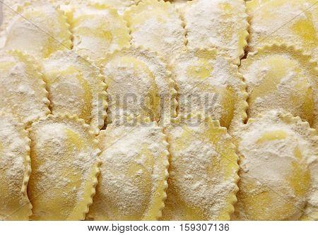 Fresh Italian Stuffed Ravioli Pasta In Retail