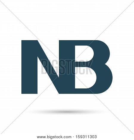 Icon NB. Nota bene. Vector illustration. Dark outline on a white background.