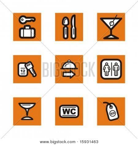 Série exclusiva do Hotel e restaurante ícones. Confira meu portfólio para muito mais desta série como w