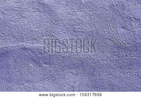 Blue Cement Wall Texture.