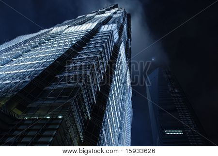 Jin Mao Tower in Shanghai
