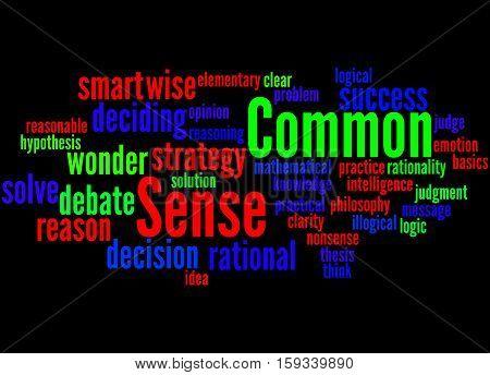 Common Sense, Word Cloud Concept 9