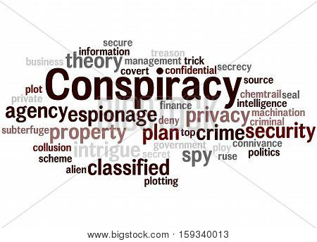 Conspiracy, Word Cloud Concept 2