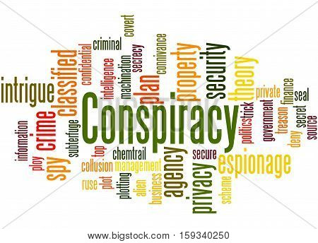 Conspiracy, Word Cloud Concept 4