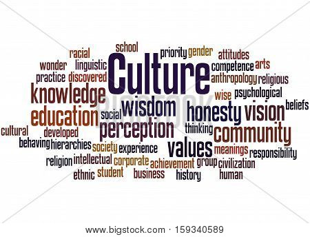 Culture, Word Cloud Concept 2
