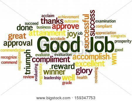 Good Job, Word Cloud Concept 6