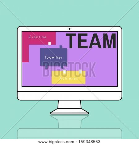 Team Work People Together Concept