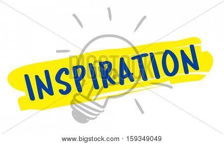 Ideas Creative Inspiration Bulb Concept
