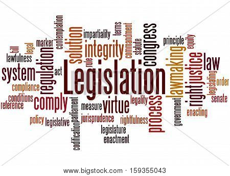 Legislation, Word Cloud Concept 9