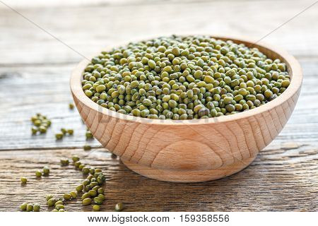 Bowl With Mung Beans.