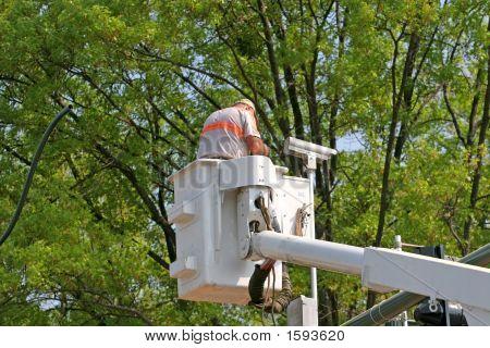 Instalación de cámara de tráfico