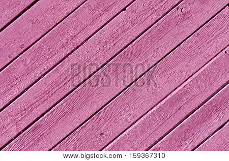 Gray Color Wood House Wall Surface.