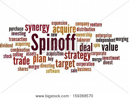 Spinoff, Word Cloud Concept 6