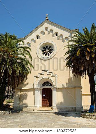 Church of St. Jerome in town Herceg Novi Montenegro