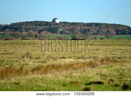 Observatory dome at Herstmonceux science centre, sussex