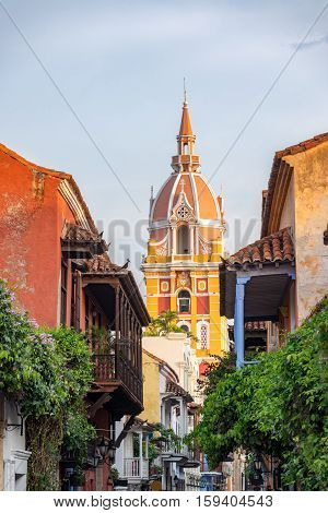 Beautiful Cartagena Cathedral