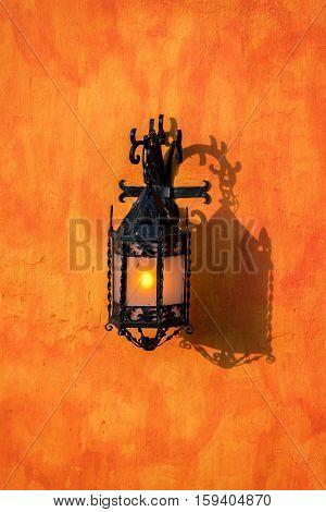 Street Light In Cartagena