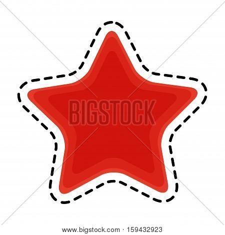 Starfish icon. Sea life ecosystem fauna and ocean theme. Isolated design. Vector illustration