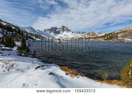 Thousand islands lakes, Eastern Sierra, California, USA.