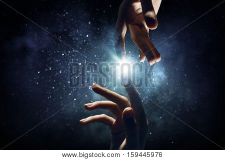 Concept of creation and interaction