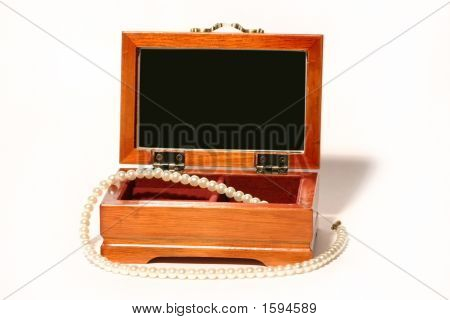 Casket With A Beads