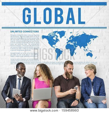 Worldwide Network Global Communication Concept