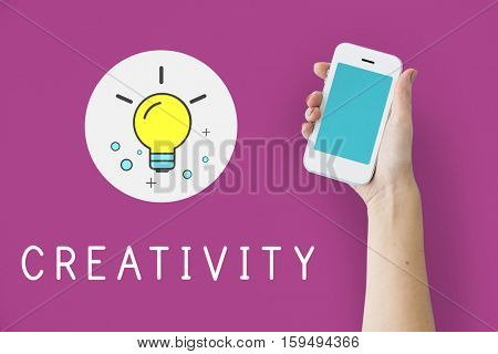 Creativity Digital Device Concept