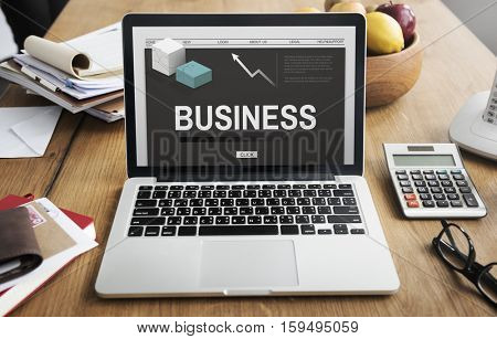 Business Trading Strategy Development Concept